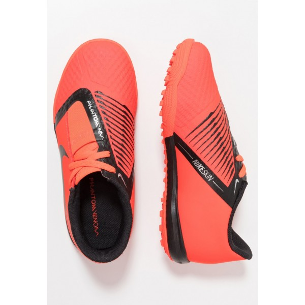 Nike PHANTOM ACADEMY TF - Chaussures de foot multicrampons bright crimson/black/metallic silver liquidation