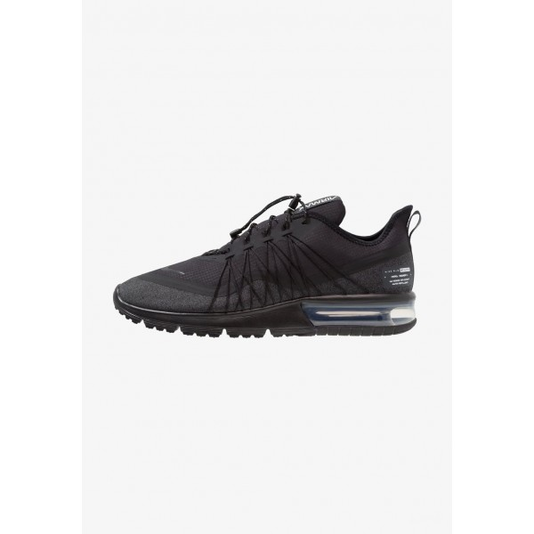 Cadeaux De Noël 2019 Nike AIR MAX SEQUENT 4 UTILITY - Chaussures de running neutres black/anthracite/white liquidation