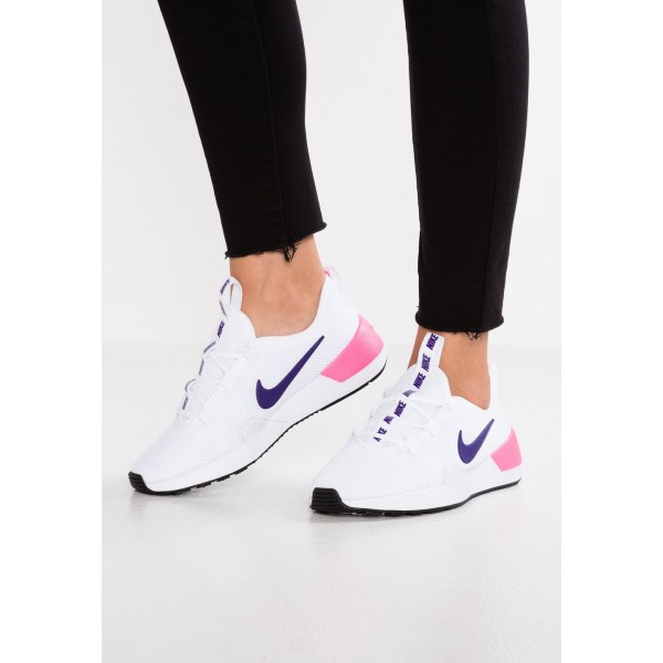Nike ASHIN MODERN - Baskets basses white/court purple/laser pink liquidation