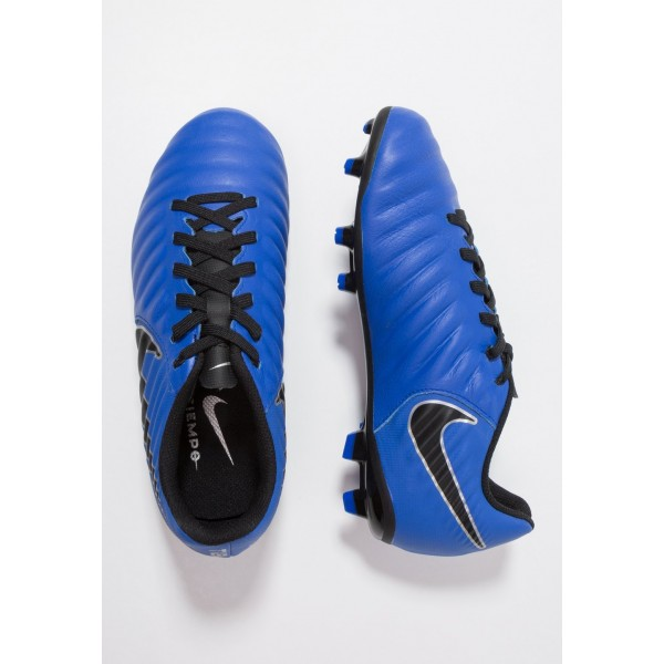Nike TIEMPO LEGEND 7 ACADEMY MG - Chaussures de foot à crampons racer blue/black/metallic silver liquidation