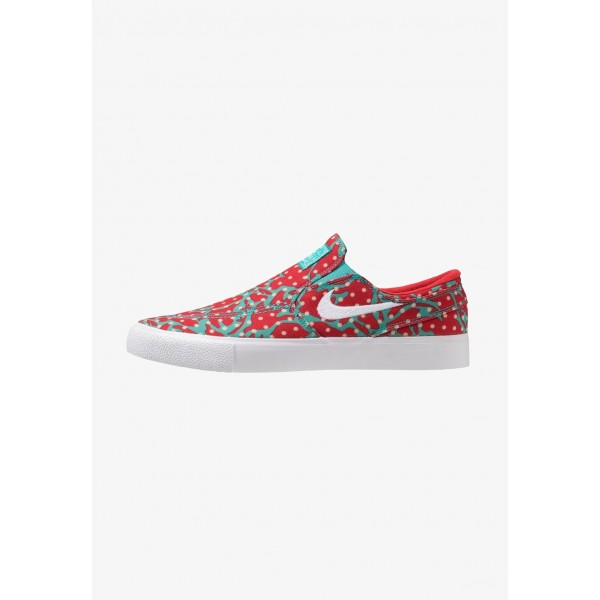 Black Friday 2020 | Nike ZOOM JANOSKI - Mocassins cabana/white/desert ore/university red/light brown liquidation