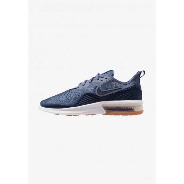 Nike AIR MAX SEQUENT 4 - Chaussures de running neutres midnight navy/obsidian/diffused blue/hyper royal/white liquidation