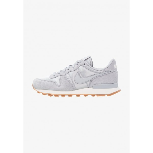 Nike INTERNATIONALIST - Baskets basses wolf grey/sail/gris loupe liquidation