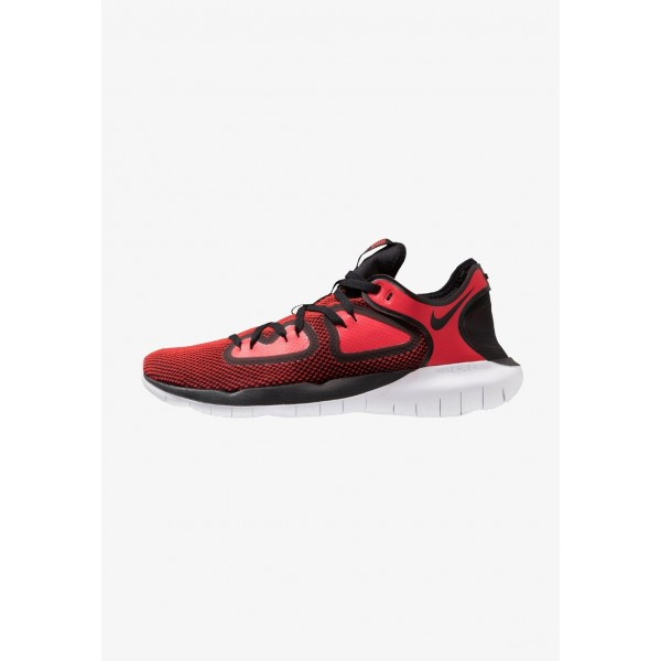 Nike FLEX 2019 RN - Chaussures de course neutres black/university red/white liquidation