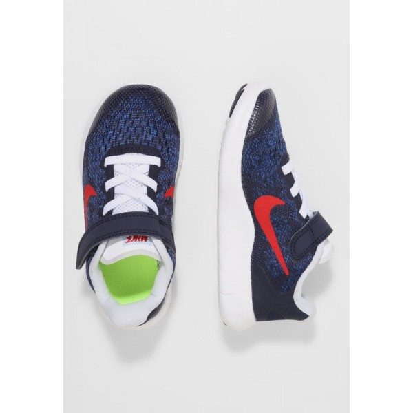 Nike FREE 2 - Chaussures de course neutres obsidian/university red/racer blue/photo blue liquidation