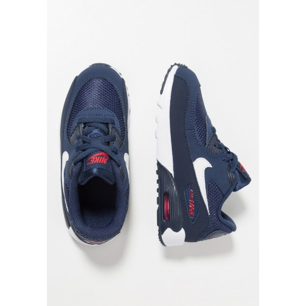 Nike AIR MAX 90 - Baskets basses midnight navy/white/universal red/obsidian liquidation