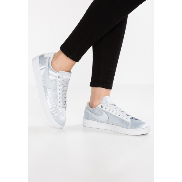 Nike BLAZER - Baskets basses pure platinum/white liquidation