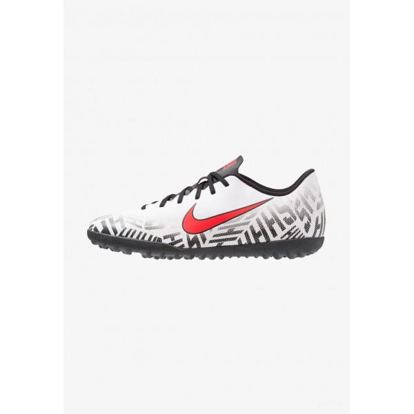 Nike MERCURIAL VAPORX 12 CLUB NJR TF - Chaussures de foot multicrampons white/challenge red/black liquidation