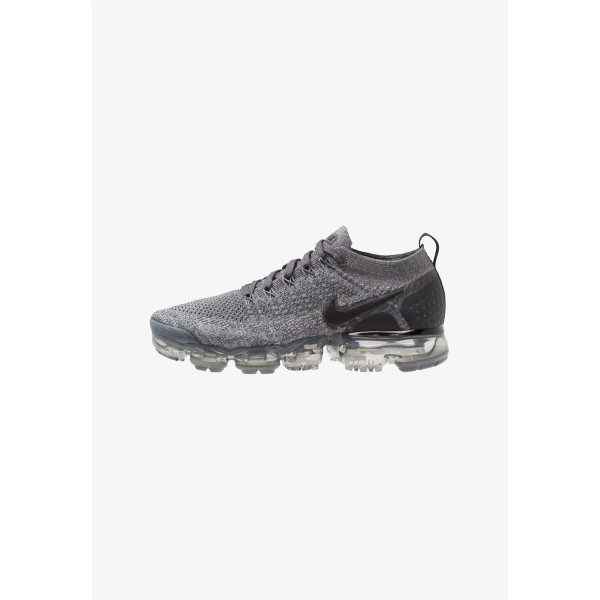Nike AIR VAPORMAX FLYKNIT - Chaussures de running neutres dark grey/black/wolf grey/black liquidation