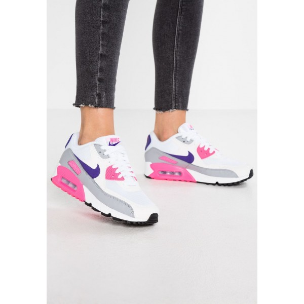 Black Friday 2020 | Nike AIR MAX - Baskets basses white/court purple/wolf grey/laser pink liquidation