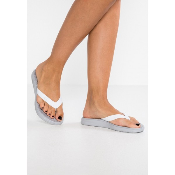 Nike SOLAY THONG - Tongs wolf grey/pure platinum/white liquidation