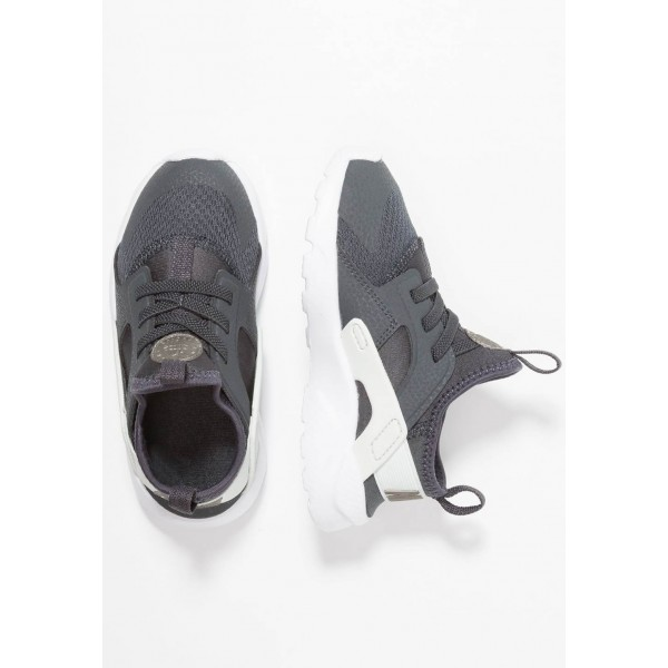 Nike HUARACHE RUN ULTRA - Mocassins anthracite/metallic pewter/spruce aura/black liquidation