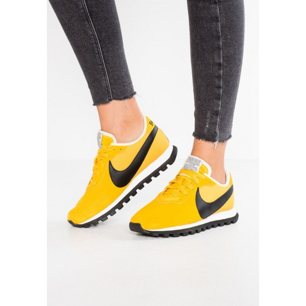 Nike PRE-LOVE O.X. - Baskets basses yellow ochre/black/summit white liquidation