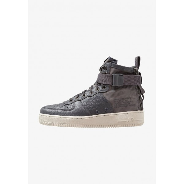 Nike SF AF1 MID - Baskets montantes dark grey/bone liquidation