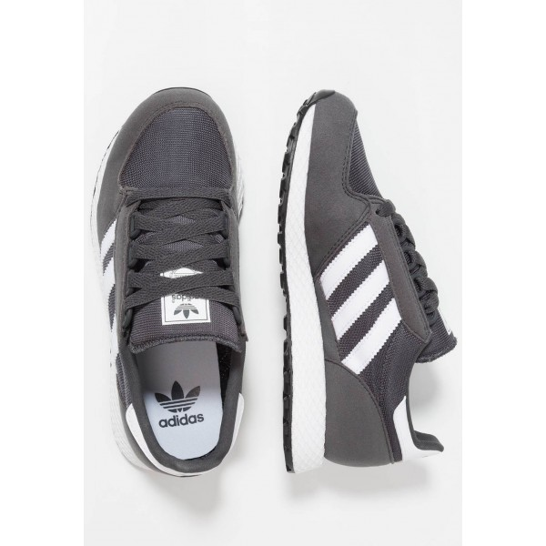 Adidas FOREST GROVE - Baskets basses grey six/footwear white pas cher