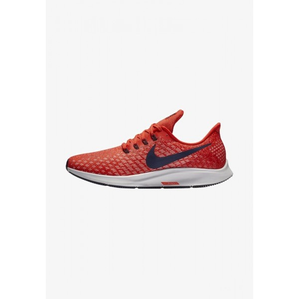 Nike AIR ZOOM PEGASUS 35 - Chaussures de running neutres habanero red/vast grey/dune red/blackened blue liquidation