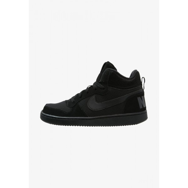 Nike COURT BOROUGH MID - Baskets montantes black liquidation