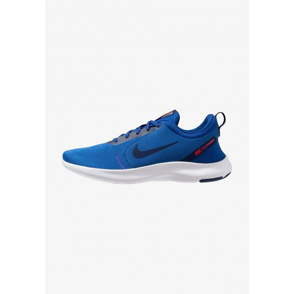 Cadeaux De Noël 2019 Nike FLEX EXPERIENCE RN 8 - Chaussures de course neutres indigo force/blue void/photo blue/red orbit/white liquidation