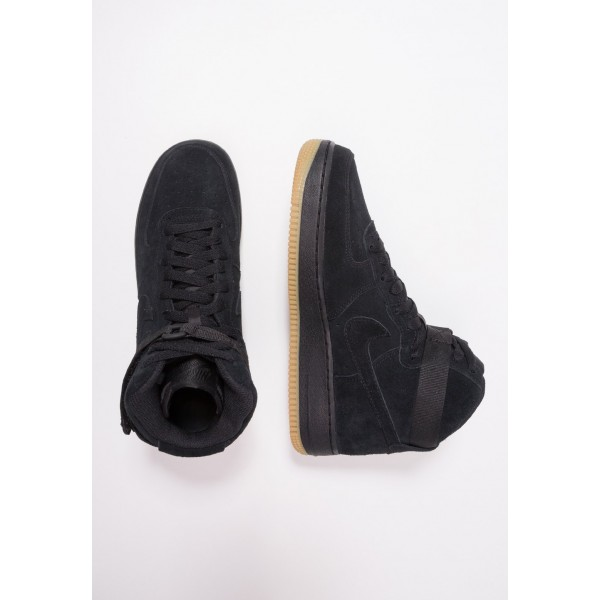 Nike AIR FORCE 1 LV8 - Baskets montantes black/light brown liquidation