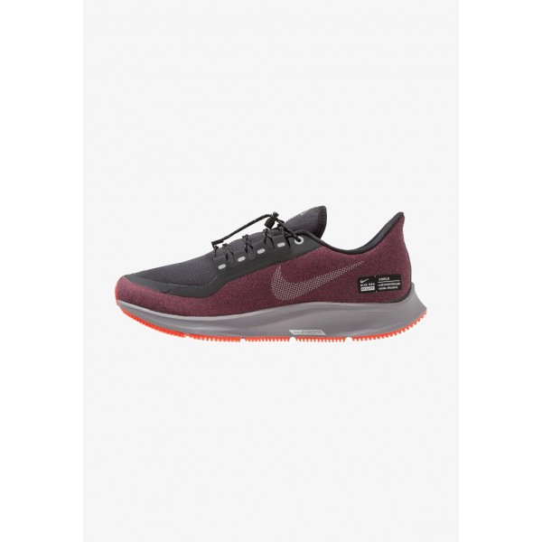 Black Friday 2020 | Nike AIR ZOOM PEGASUS 35 SHIELD - Chaussures de running neutres black/metallic silver/night maroon/gunsmoke/bright crimson liquidation