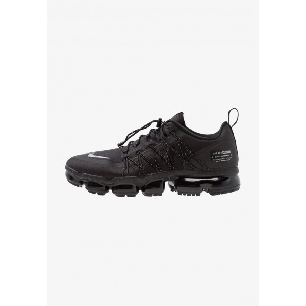 Nike AIR VAPORMAX RUN UTILITY - Chaussures de running neutres black/reflect silver liquidation