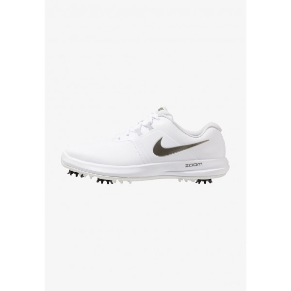 Black Friday 2020 | Nike AIR ZOOM VICTORY - Chaussures de golf white/metallic pewter/vast grey/platinum tint liquidation