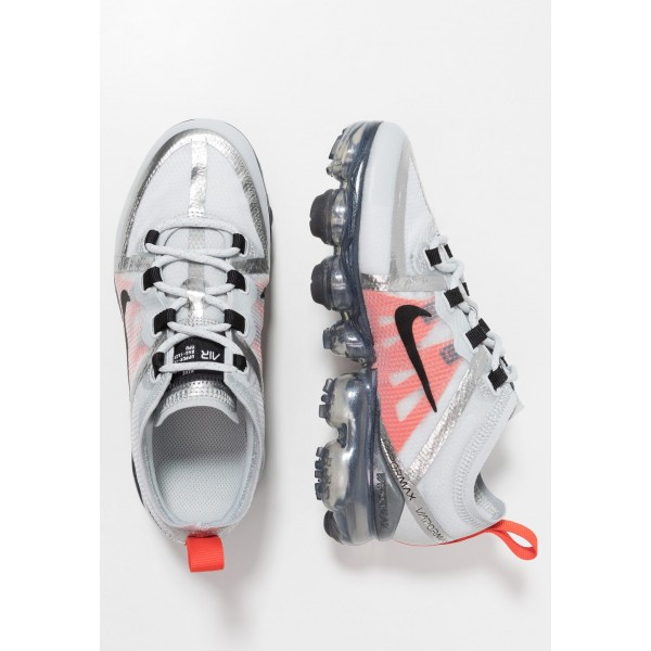 Cadeaux De Noël 2019 Nike AIR VAPORMAX 2019 - Chaussures de running neutres pure platinum/black/white/team orange liquidation