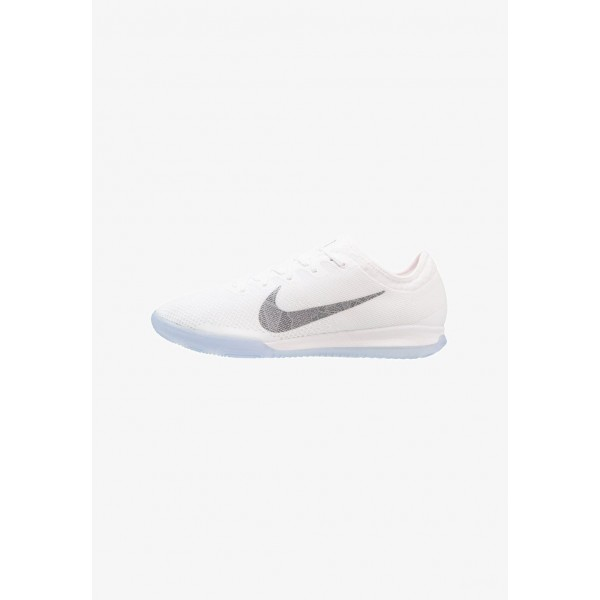 Black Friday 2020 | Nike MERCURIAL VAPORX 12 PRO IC - Chaussures de foot en salle white/chrome/total orange liquidation