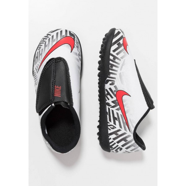 Black Friday 2020 | Nike MERCURIAL VAPORX 12 CLUB NJR TF - Chaussures de foot multicrampons white/challenge red/black liquidation