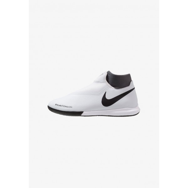 Nike PHANTOM OBRAX 3 ACADEMY DF IC - Chaussures de foot en salle wolf grey/metallic dark grey/dark grey/light crimson/pure platinum liquidation