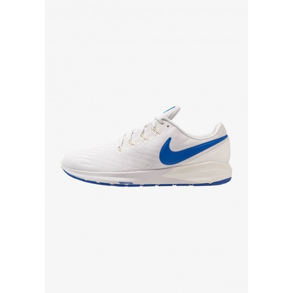 Nike AIR ZOOM STRUCTURE  - Chaussures de running stables vast grey/game royal/sail/blue lagoon liquidation