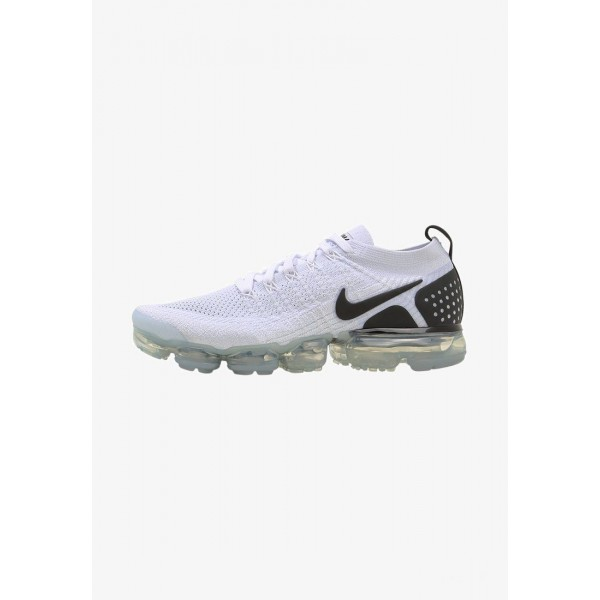 Black Friday 2020 | Nike AIR VAPORMAX FLYKNIT - Chaussures de running neutres white/black liquidation