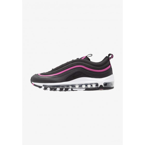 Black Friday 2020 | Nike AIR MAX 97 LUX - Baskets basses black/active fuchsia liquidation
