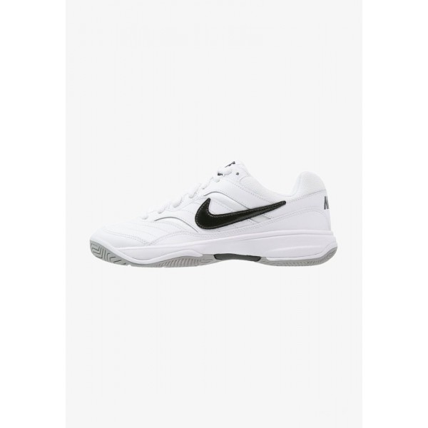 Black Friday 2020 | Nike COURT LITE - Baskets tout terrain white/black/medium grey liquidation